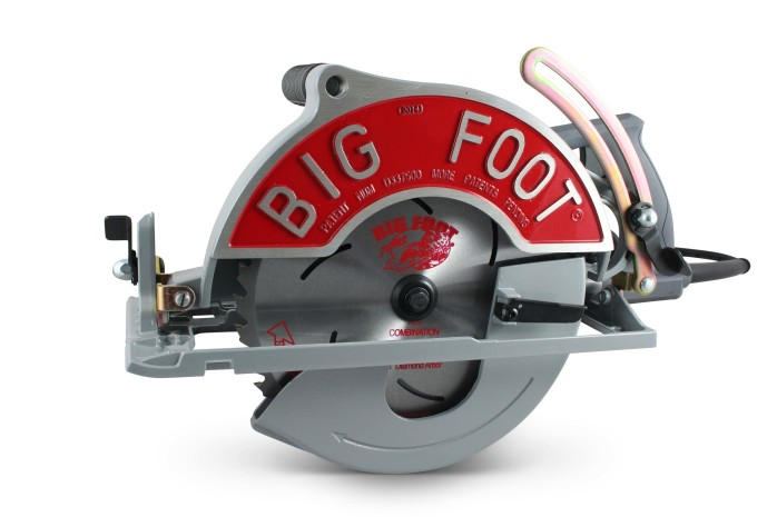 The Original 10-1/4″ Big Foot Saw w/Skil® Motor