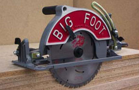 Big Foot Beam Saw